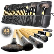 24-Piece Professional Makeup Brush Set