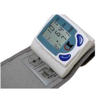 Digital Automatic Wrist Match Blood Pressure Monitor and Heart Beat Meter
