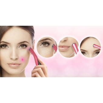 Eye Anti Wrinkle & Anti Dark Circle Massager - Pink