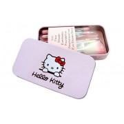 Hello Kitty Mini Makeup Cosmetic Brush Set
