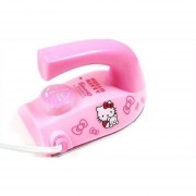 Portable Mini With Temperature Control Electric Iron Hello Kitty