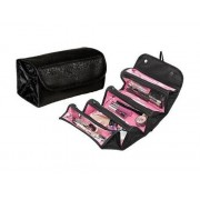 Roll N Go Foldable Cosmetic Pouch for Make Up Toiletry Travel Bag