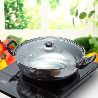 Stainless Steel Cooking Pot for Electro Magnetic Induction Cooker